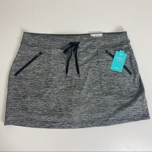 TEK GEAR Skort Mid Rise New XL